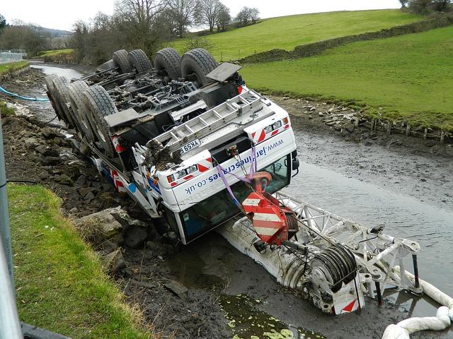 wypadek ciężarówki a klauzula cmr w ubezpieczeniu